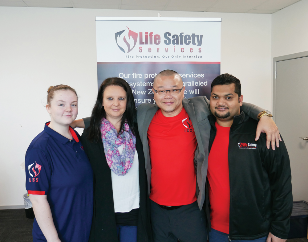 Life Safety Services team